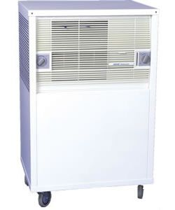 Kool Cube - Evaporative Cooler / Humidifier  30 sq m  Steel Cabin - Click for larger picture