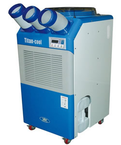 TC32 - 32000 BTU Industrial Portable Air Conditioner - Click for larger picture